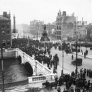 O'Connell Street lies in ruins after the 1916 Rising