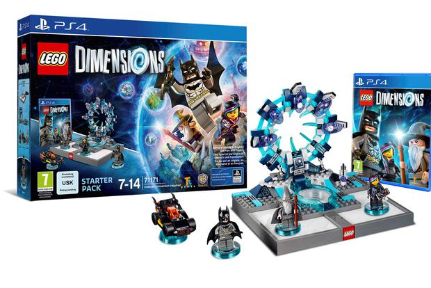 Lego Dimensions: The pack includes real Lego figures that need to be built from scratch