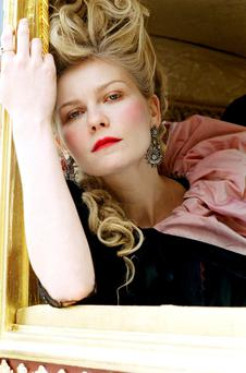 Kirsten Dunst as the ill-fated queen in Sofia Coppola's 2006 Hollywood movie, Marie Antoinette.