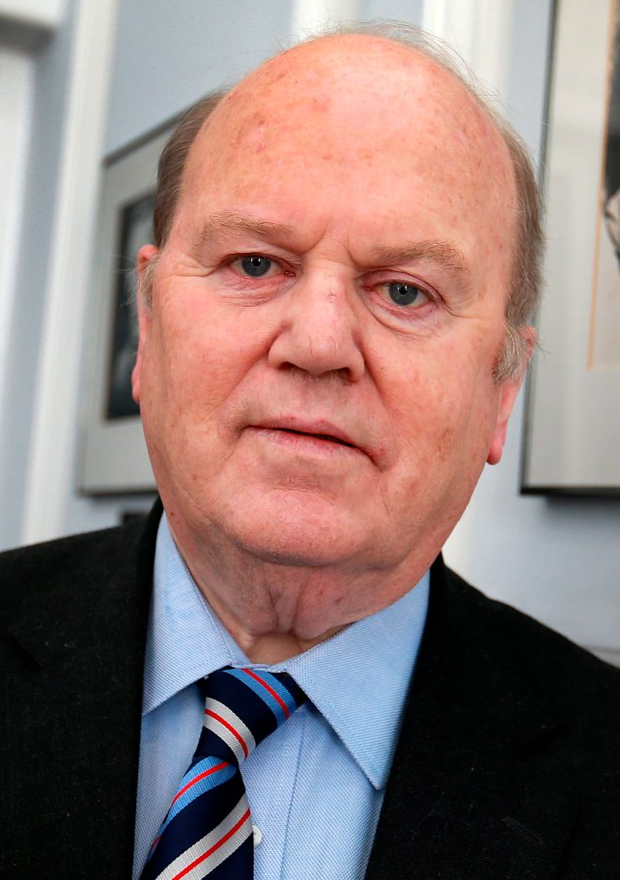 Minister for Finance Michael Noonan pictured after the presentation of the latest Exchequer Returns at the Dept of Finance. Picture Credit: Frank Mc Grath. 2/9/15