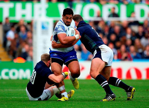 Samoa take on Scotland this weekend