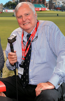 BBC Golf commentator Peter Alliss