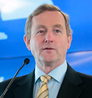 'Surely even Enda can see that all the indications point to only one outcome after the election and that is a Fine Gael/Fianna Fail government'