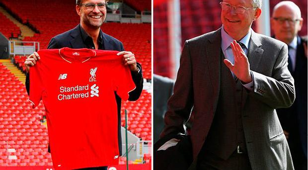 Alex Ferguson admits he is worried following Klopp's arrival at Liverpool