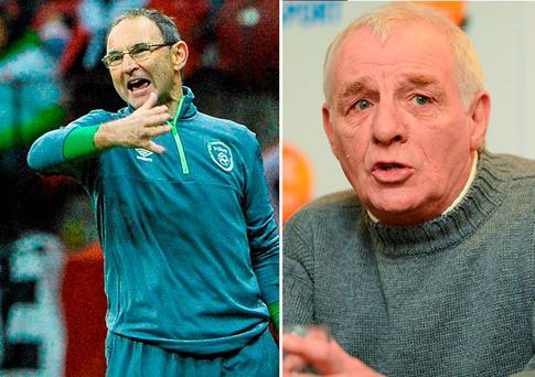 Martin O'Neill and Eamon Dunphy