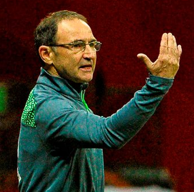 Martin O'Neill said his side lacked the intensity they had displayed against Germany