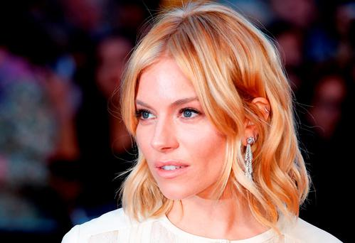 Sienna Miller attends the High-Rise Screening, during the BFI London Film Festival, at Odeon Leicester Square on October 9, 2015 in London, England. (Photo by John Phillips/Getty Images for BFI)