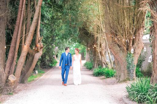 Clare and Olaf held their reception at Ballybeg House, Co Wicklow
