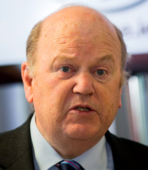 'What is 'clear' is he [Enda Kenny] and his parliamentary party, not least Finance Minister Michael Noonan [pictured] wanted a November polling day'