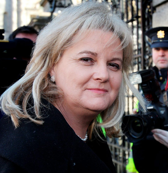 Angela Kerins: claims the Public Accounts Committee acted outside its remit and showed bias towards her