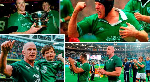 The legend that is Paul O'Connell will not play for Ireland again
