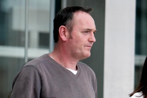 James Anthony Oliver Albert Corry (46) was granted bail today following his arrested in Killorglin, Co Kerry on Friday on foot of a European Arrest Warrant issued by German authorities where he his wanted in connection with a Provisional IRA mortar attack on a British army barracks in Germany in 1996. Photo: Courtpix