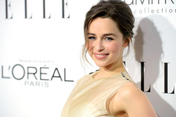 Actress Emilia Clarke attends ELLE's 20th Annual Women In Hollywood Celebration