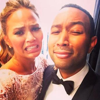 Chrissy Teigen and John Legend have revealed the sex of their baby. Picture: Chrissy Teigen/Instagram