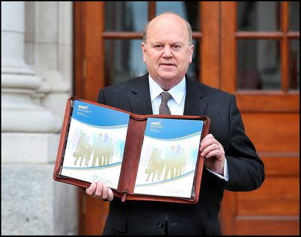 In the Budget, Finance Minister Michael Noonan confirmed the KDB would have a rate of 6.25pc - half the headline rate of 12.5pc - for companies that derive their profits from patents.