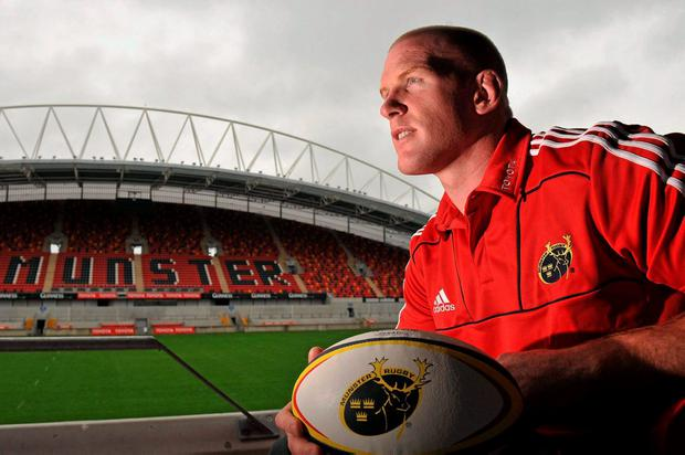 Paul O'Connell will return to Munster to work with the Greencore Academy