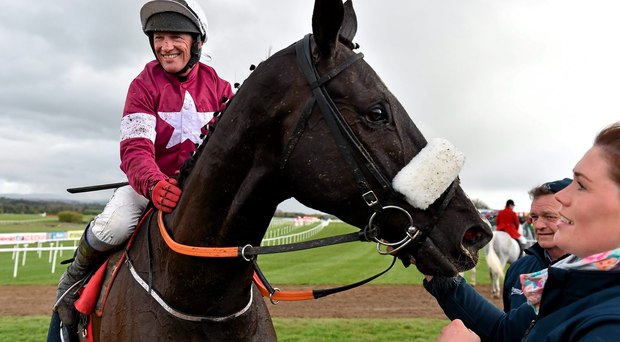 Paul Carberry on Don Cossack at Punchestown earlier this year