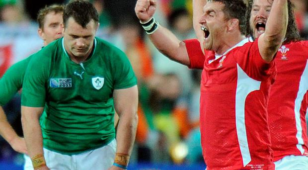 Cian Healy and the Ireland team will remember the pain of losing to Wales in the quarter-finals of the 2011 World Cup