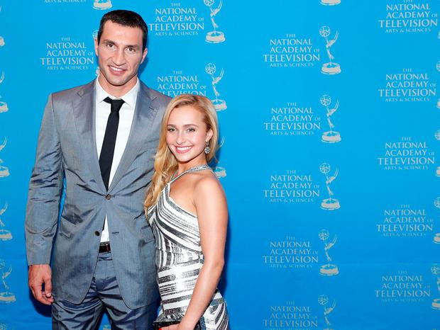 Boxer Wladimir Klitschko and actress/model Hayden Panettiere