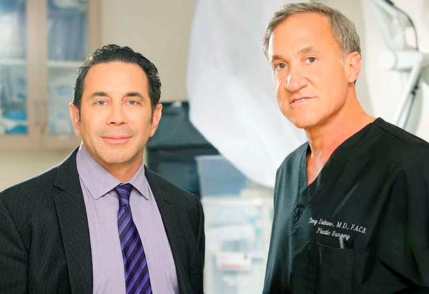 BOTCHED Pictured: Dr. Paul Nassif, Dr. Terry Dubro -- (Photo by: Brandon Hickman/E!)