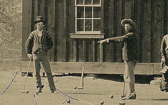 The photograph of Billy the Kid whch was purchased for $2 at a Fresno junk shop in 2010, could sell for millions at auction. Photo: Kagin's