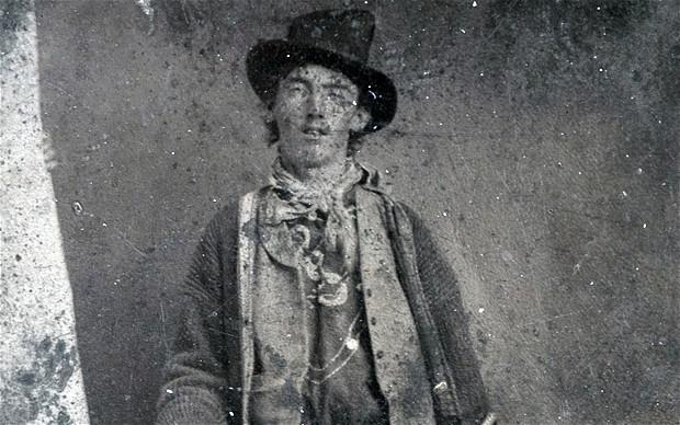 The photograph was owned by the descendants of Dan Dedrick, who was given the photo by his cattle rustling partner, Billy the Kid himself