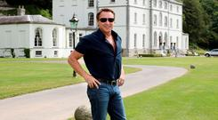 Michael Flatley favourite room in Castlehyde, Co. Cork. Exterior. Photo: Tony Gavin 29/6/10