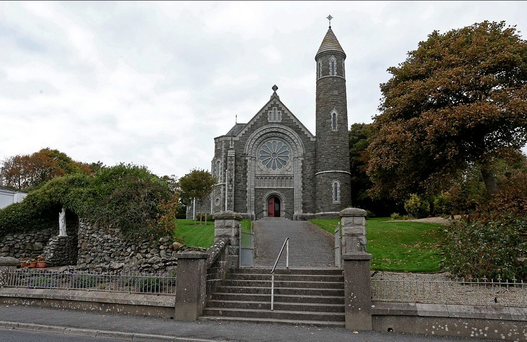 Oliver Plunkett Church, Blackrock, Co. Louth where the funeral of murdered Garda Tony Golden will take place tomorrow. Photo: Colin Keegan, Collins Dublin.