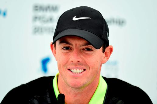 Rory McIlroy returns to action on the PGA Tour today for the first time since finishing tied-16 in the Tour Championship in Atlanta