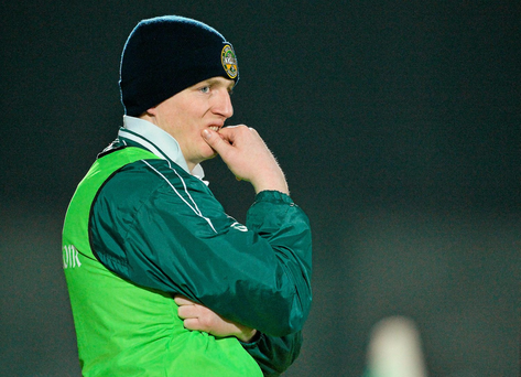 Athy and manager Pascal Kellaghan parted ways six weeks ago