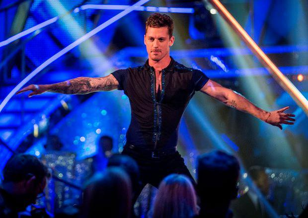 Tristan MacManus on Strictly Come Dancing