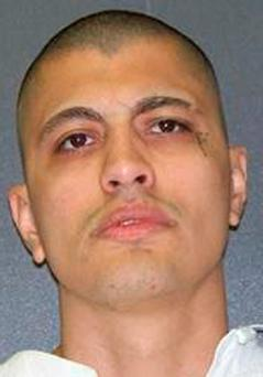 Inmate Licho Escamilla is shown in this undated booking photo provided by the Texas Department of Criminal Justice in Austin, Texas October 7, 2015. REUTERS/Texas Dept of Criminal Justice