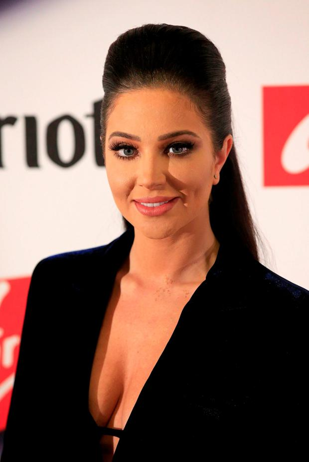Tulisa Kontostavlos attends the Attitude Pride Awards at the Banqueting House, Whitehall, London