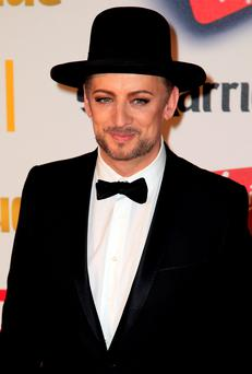 Boy George attends the Attitude Pride Awards at the Banqueting House, Whitehall, London