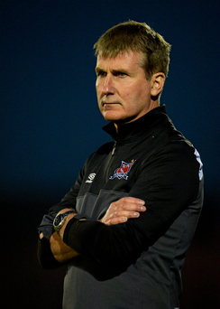 Dundalk manager Stephen Kenny is already at the stage where he has to think about next year