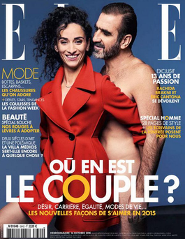 The cover of Elle France.