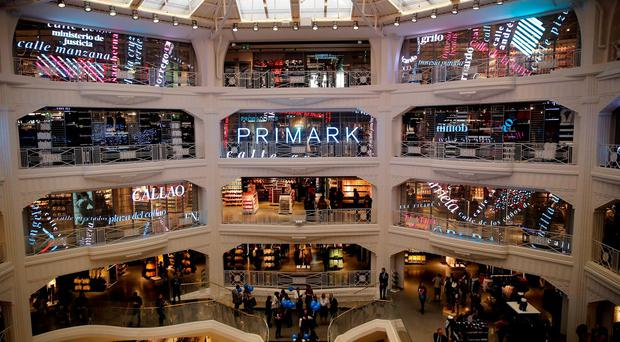 A general view shows the inside of Primark's new Spanish flagship store in Madrid, Spain, October 15, 2015. Reuters/Andrea Comas