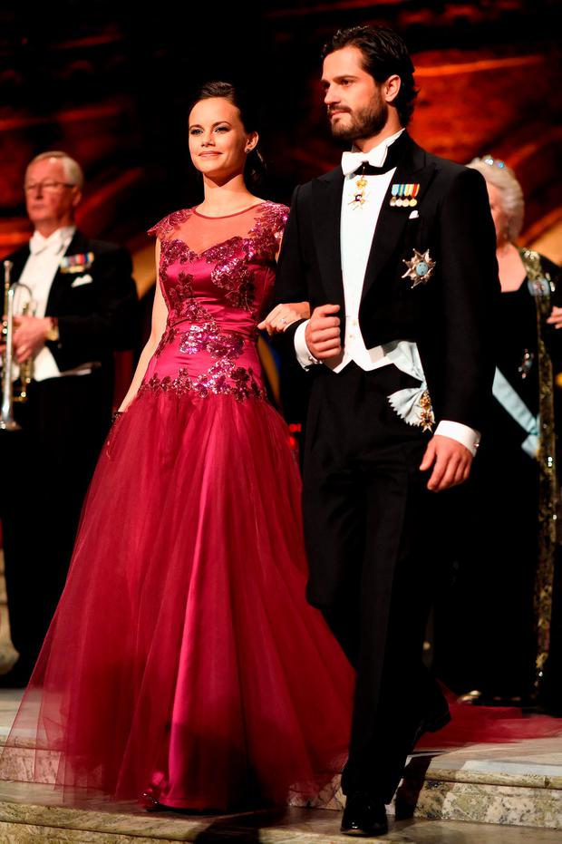 Sweden's Prince Carl Philip & Princess Sofia are expecting their first child