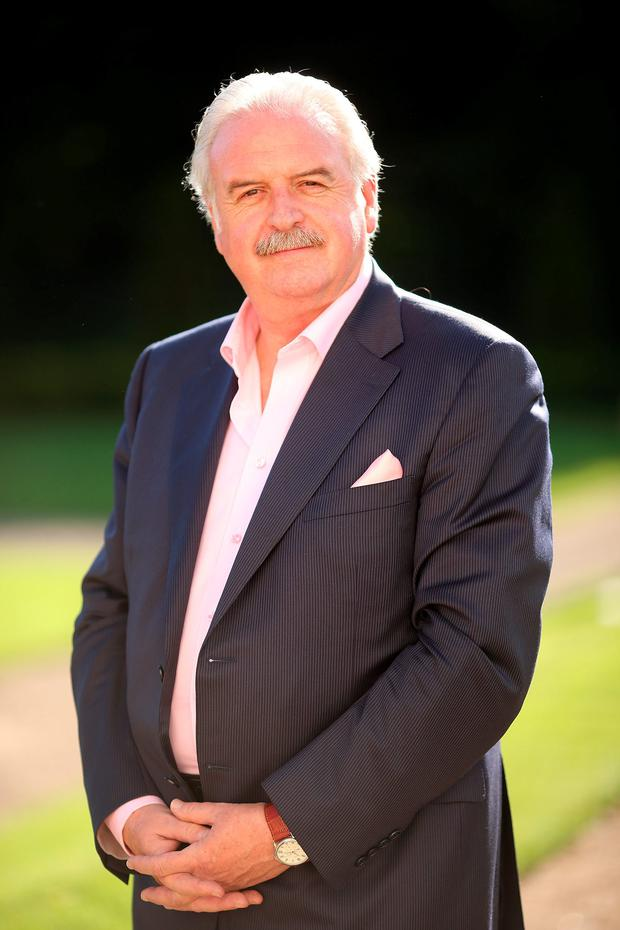 Colourful and chequered career: Marty Whelan. Photo: Gerry Mooney.