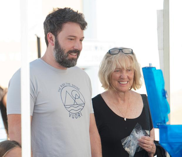 Ben Affleck and Christine Anne Boldt are seen on September 27, 2015 in Los Angeles, California. (Photo by GONZALO/Bauer-Griffin/GC Images)