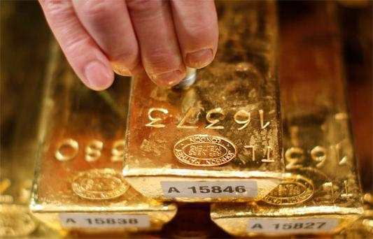 Gold has jumped to its highest value in more than three months