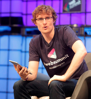 Web Summit co-founder Paddy Cosgrave