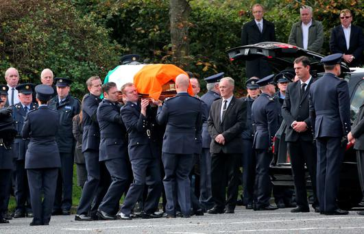 The State Funeral of Garda Anthony Golden