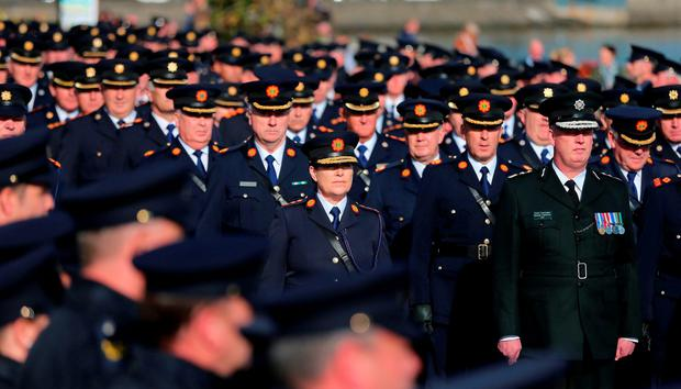 Yesterday, it also emerged that the Garda Commissioner Noirin O'Sullivan has ordered the Emergency Response Unit and an extra 27 uniformed gardai into the north Louth area in response to the murder of Garda Golden
