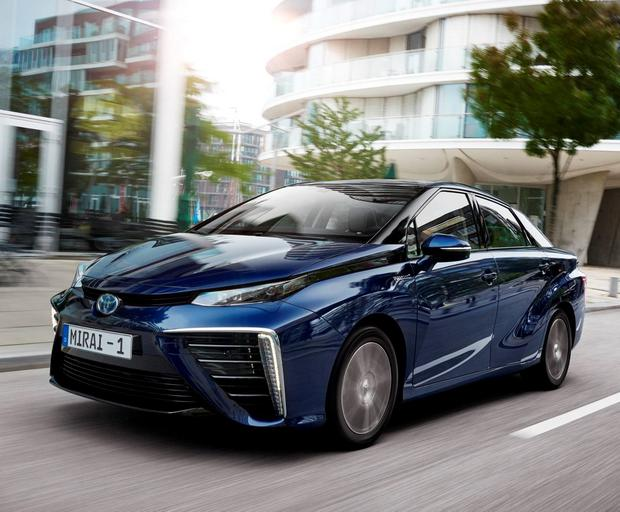 Future: The new Toyota Mirai, powered purely by hydrogen