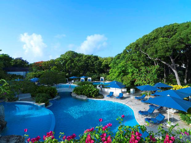 Sandy Lane Hotel in Bridgetown, Barbados