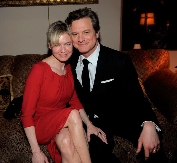 Actors Renee Zellweger and Colin Firth pictured in 2011