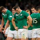 Ireland's Robbie Henshaw looks dejected after the game Reuters / Rebecca Naden Livepic