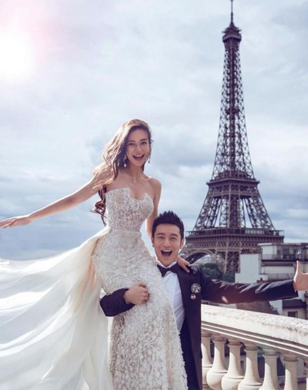 The couple took part in a pre-wedding shoot five months ago in Paris.