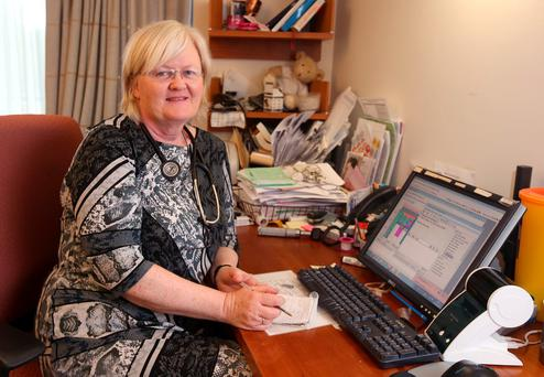 Dr Edel McGinnity, who is based in the Riverside Medical Centre, Mulhuddart, Dublin. Photo credit; Damien Eagers
